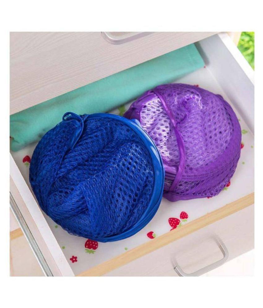 Jeeya Set of 2 16 20 L Laundry Bags Multi