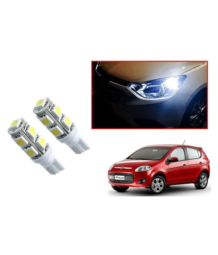 Auto Addict Car T10 9 SMD Headlight LED Bulb for Headlights,Parking Light,Number Plate Light,Indicator Light For Fiat Palio