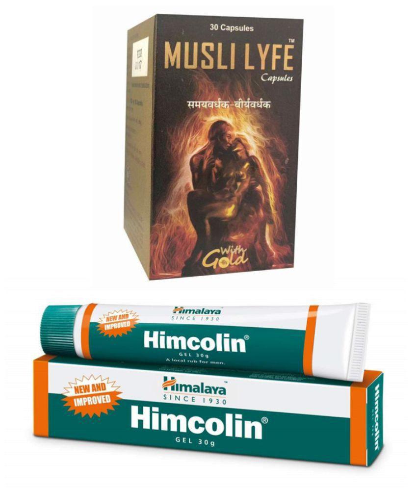Herbal Care Himalaya Himcolin Gel 30g_Musli Lyfe Capsule 30 no.s