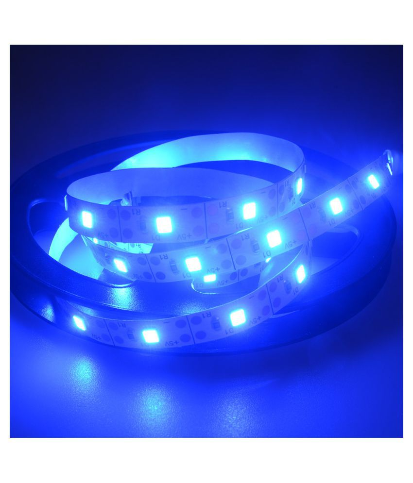 san francisco f64ff cb8ba 5V 2835 120SMD/2M White/Warm white/Blue LED Strip Light Bar ...