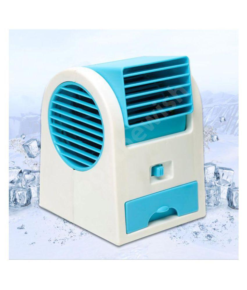 Darling Toys Air Conditioner Mini Fan - Perfume Turbine USB Charging Air Cooler