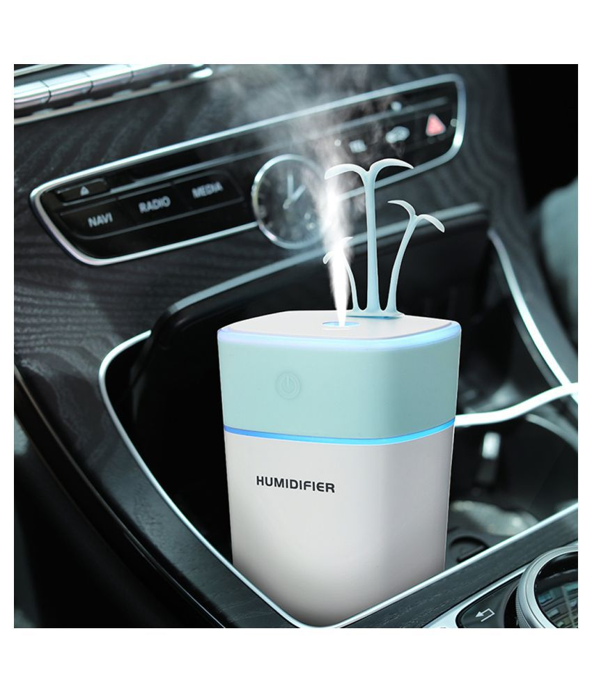 320ML Mini Creative Bonsai Air Diffuser Home Office Car Portable Air Humidifier