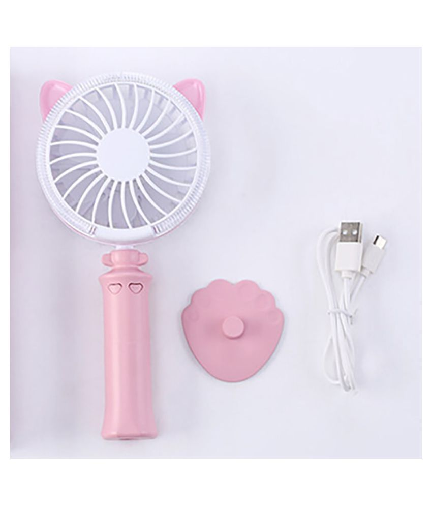 High Quality LED  Rechargeable Portable Mini Usb Fan