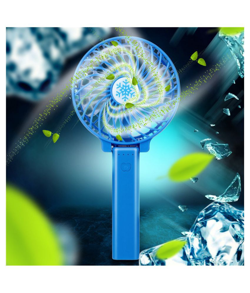 Hot Mini Portable USB Rechargeable High Power 3-Speed Desktop Fan Durable