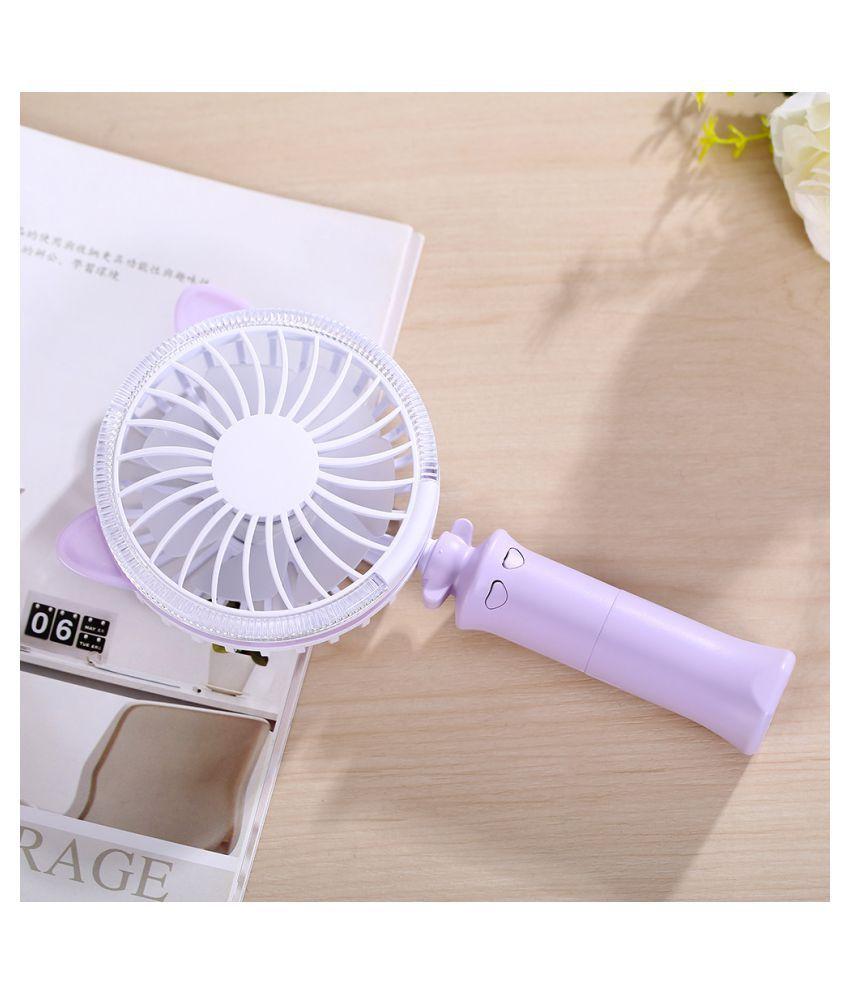 High Quality LED  Rechargeable Portable Mini Usb Fan