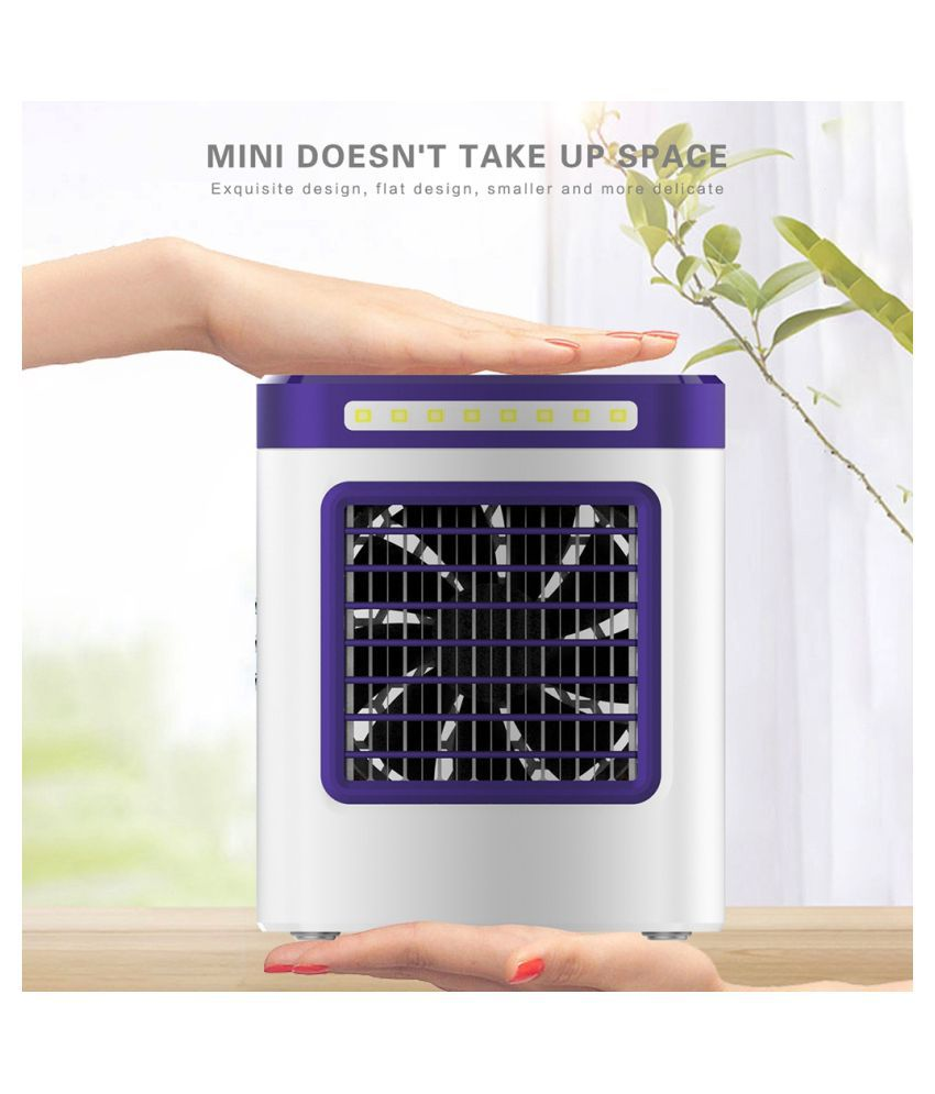 New Charging S9 Mini Portable Air Conditioning Fan Home Refrigerator Cooler EU