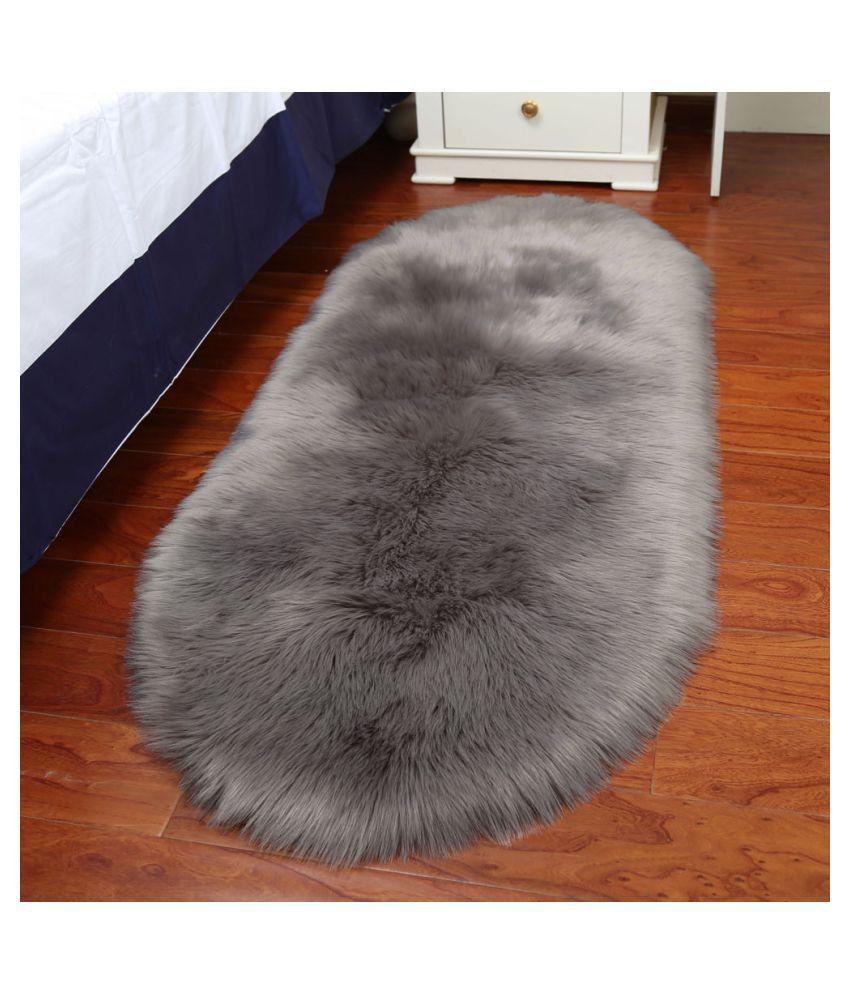 Chair Cover Artificial Sheepskin Wool