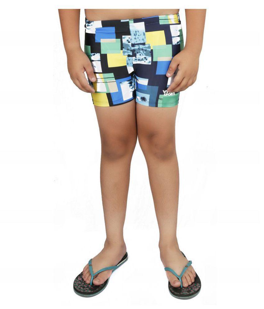 Viva Sports VSTK-001-A Kid's Swimming Trunks (Multicolor)/ Swimming Costume