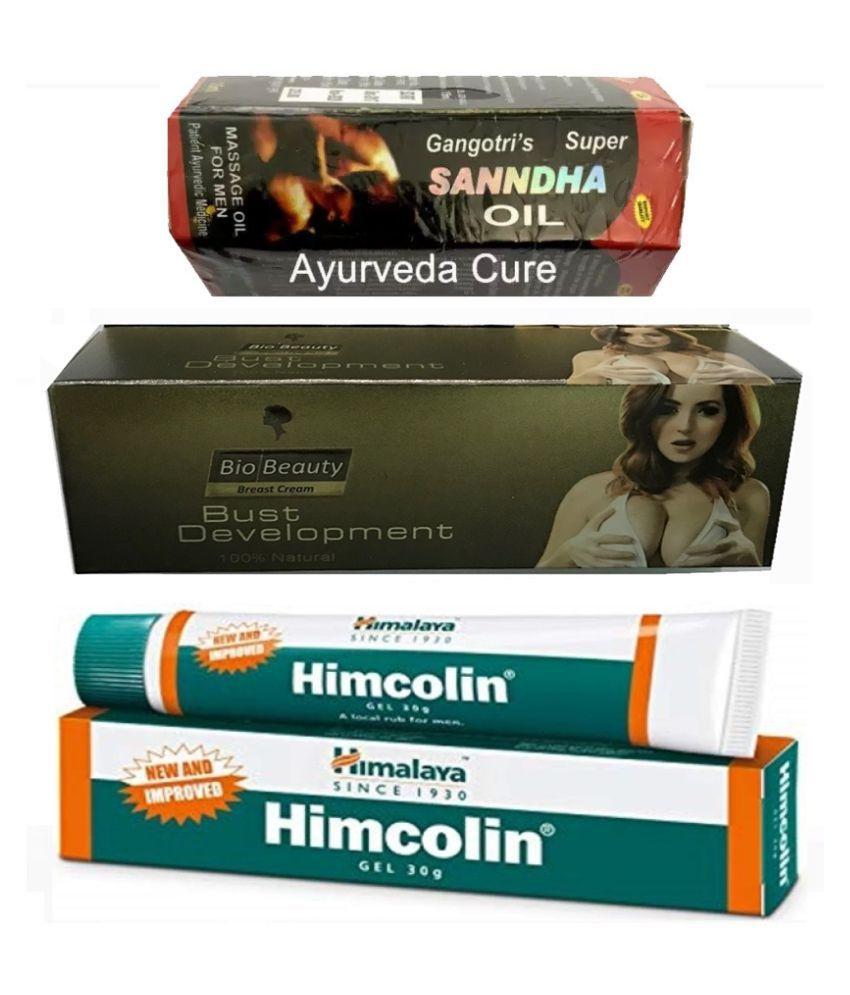 Herbalshoppe Variety Combo Pack for Men & Women Oil 3 no.s