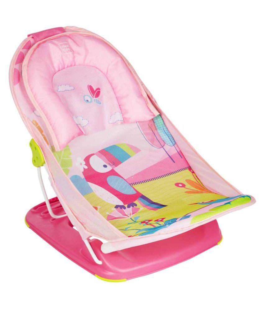 Mee Mee Pink Polypropylene Baby Bather