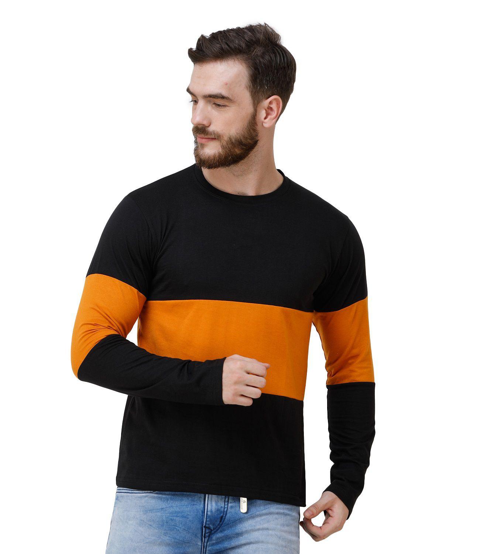 Lime 100 Percent Cotton Black Striper T-Shirt