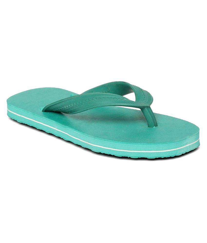 Paragon Kids Green Flip-Flops Slippers
