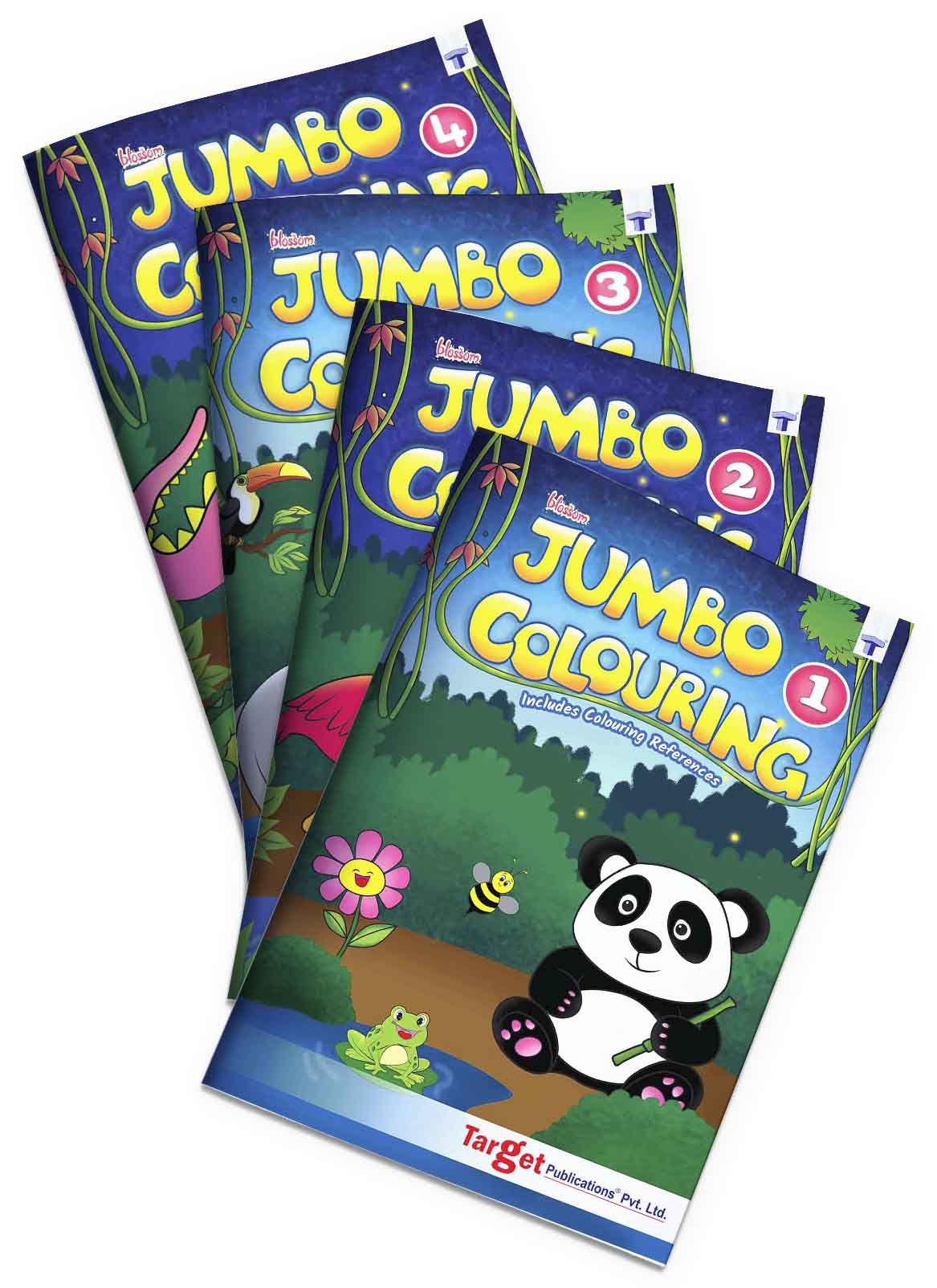 Blossom Jumbo Colouring Books For SDL 1 f1eb0