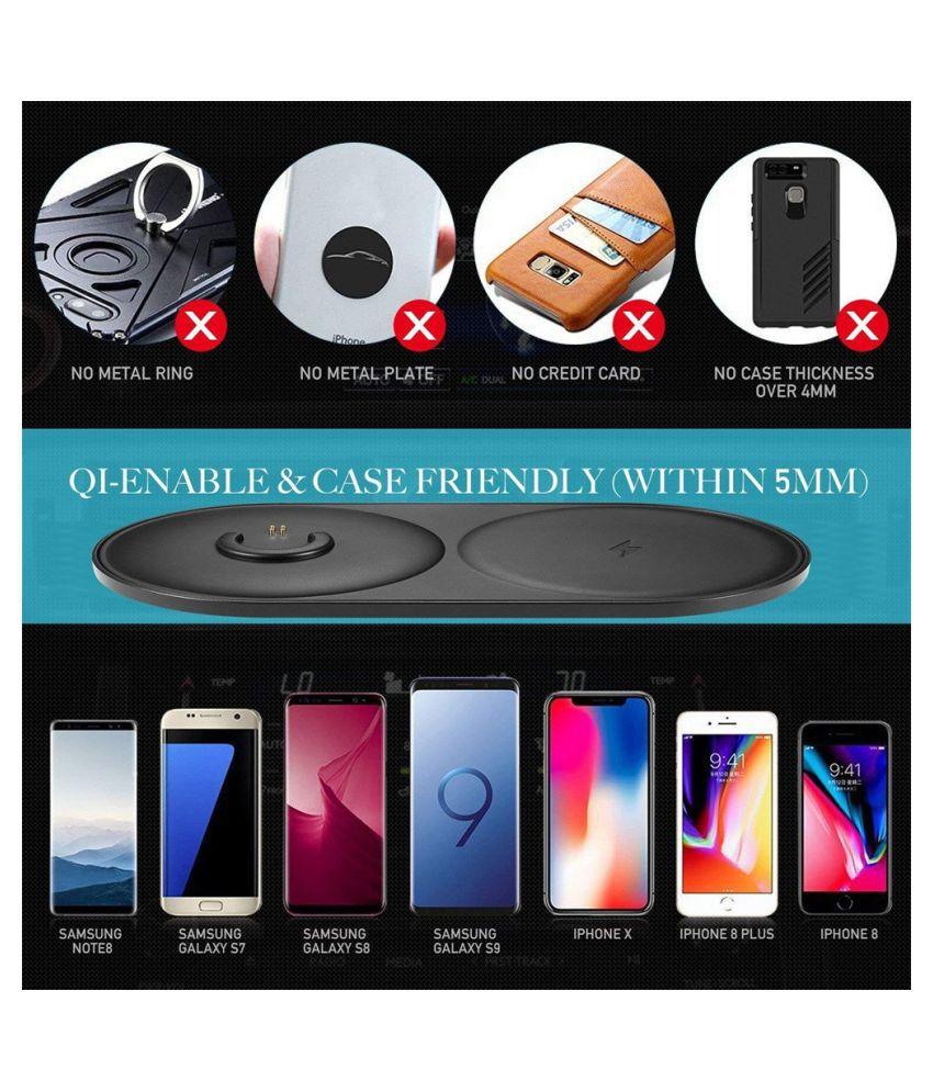 2in1 Speaker+Phone Qi Wireless Charging Dock Charger For B0se Soundlink Revolve+