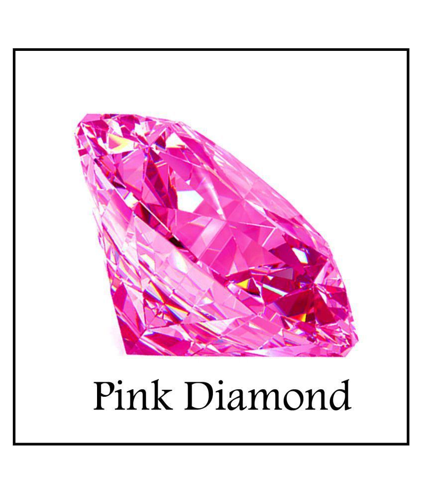 Maya Gems/Extra Fine Round Pink Diamond Gemstone