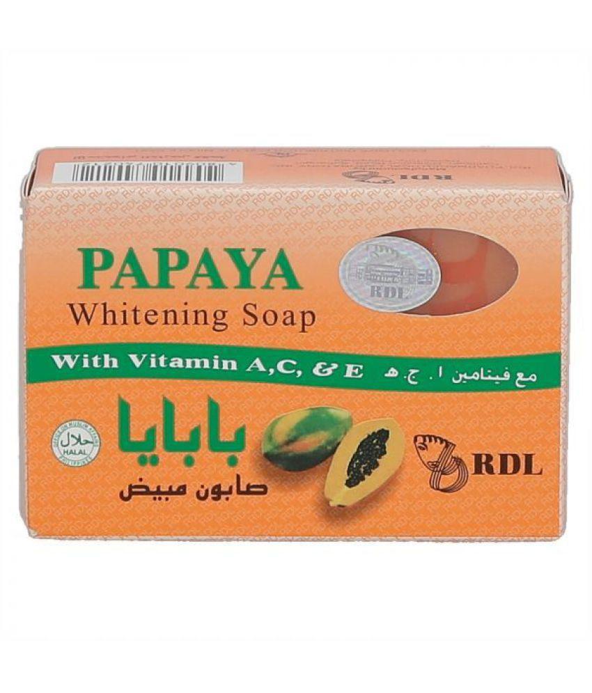 Beauty World RDL Papaya Whitening Soap 135G Facial Kit g