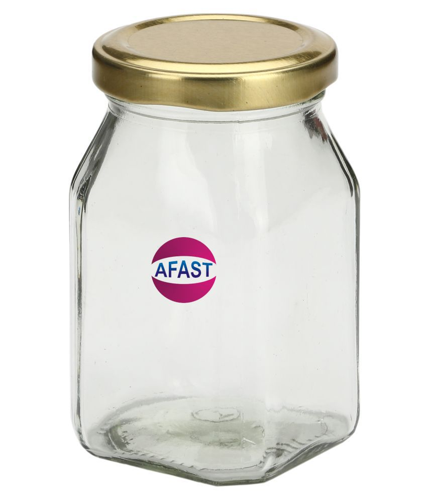 AFAST Bx008 Glass Tea/Coffee/Sugar Container Set of 1 300 mL