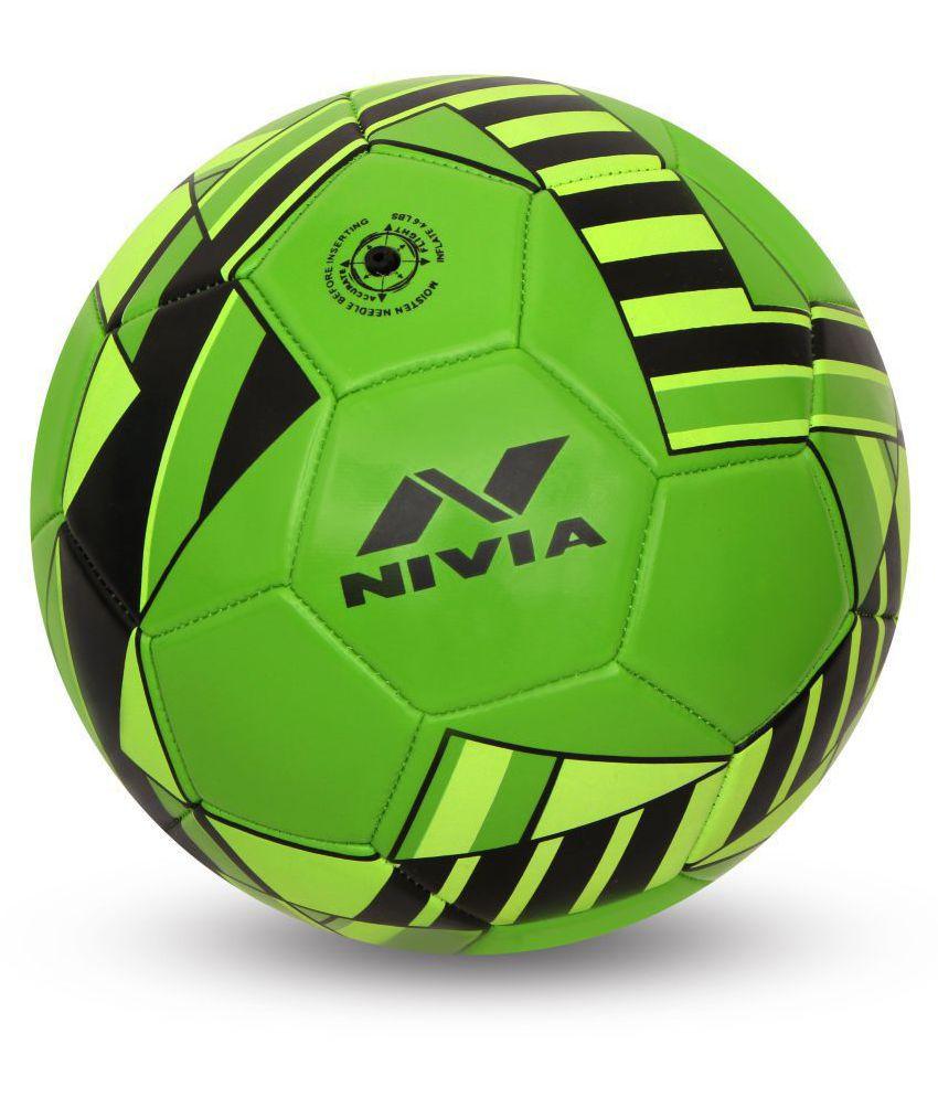 Nivia Blade Green Football Size  5