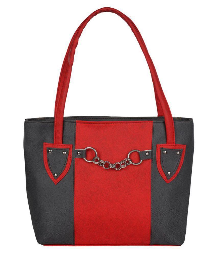 Evelyn Creation Black Pure Leather Shoulder Bag