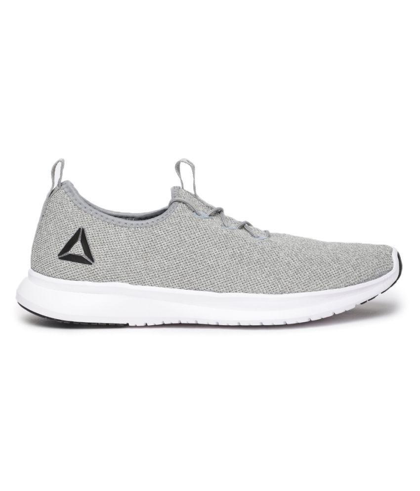 Reebok PISTON Gray Running Shoes - Buy