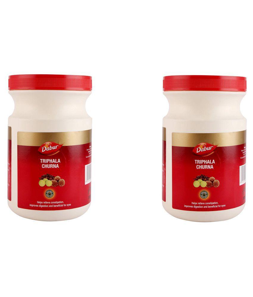 Dabur TRIPHALA Powder 500 gm Pack Of 2
