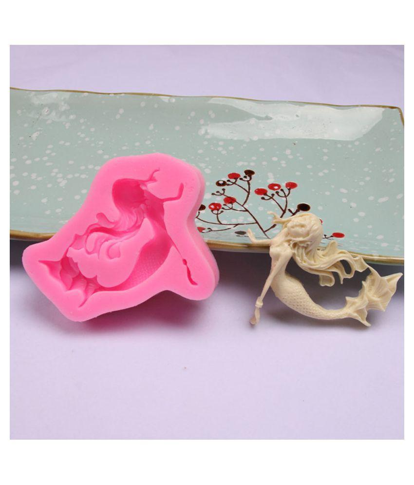 Silicone 3D Big Rose Flower Fondant Cake Chocolate Sugarcraft Mould Mold Tool