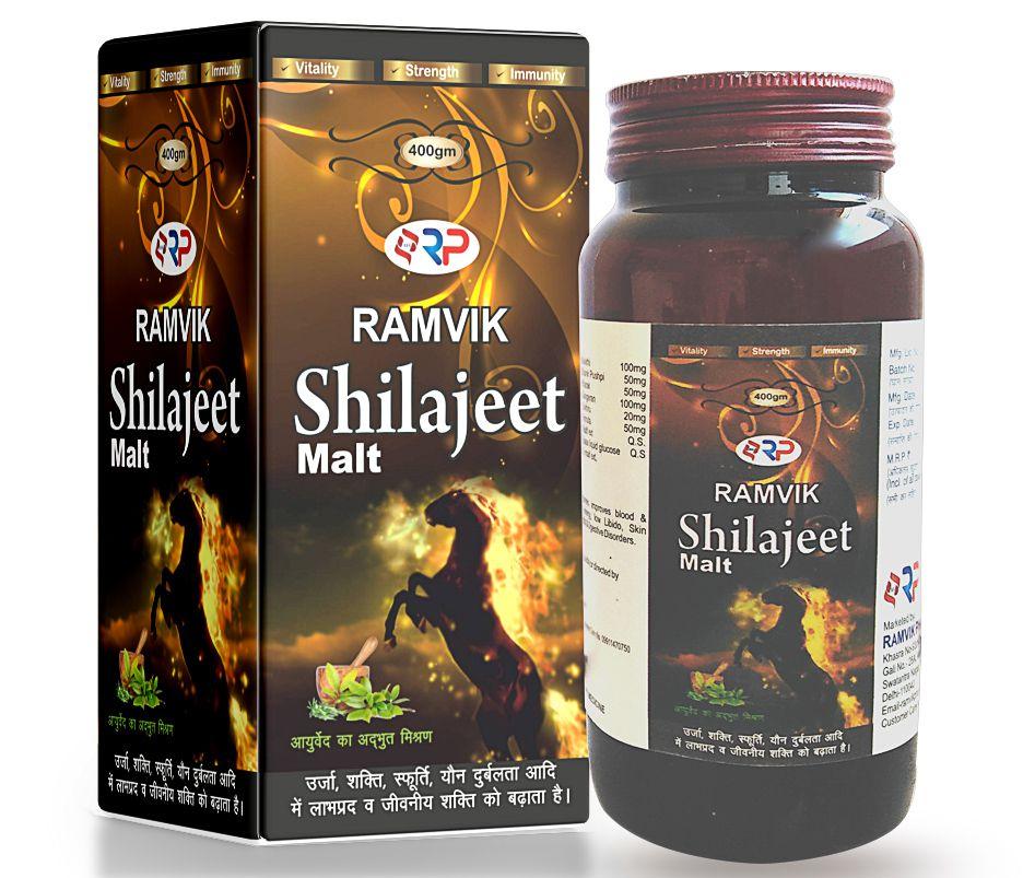 Ramvik Shilajit Malt Liquid 400 gm