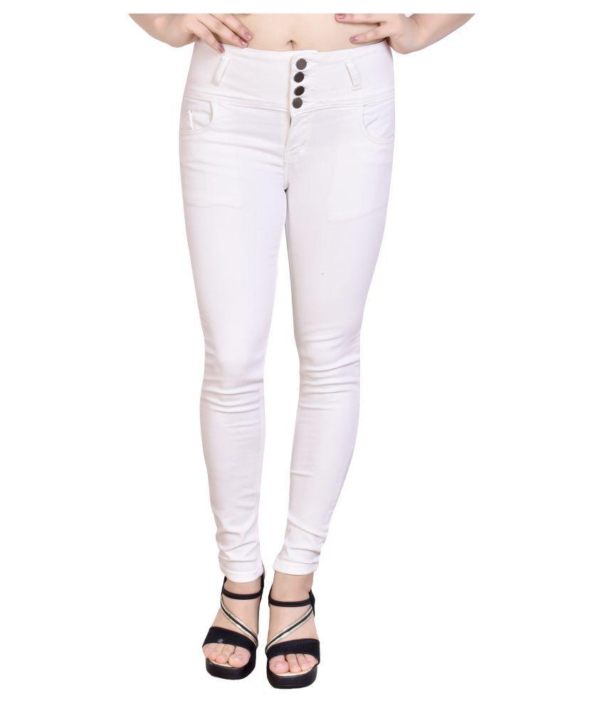 FERAL Denim Jeans - White