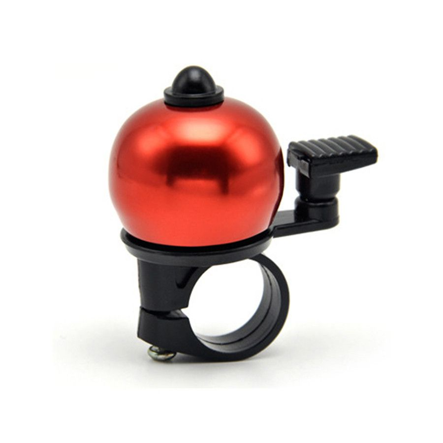 Safety Cycling Bicycle Handlebar Metal Ring Black Bike Bell Horn Sound Alarm !