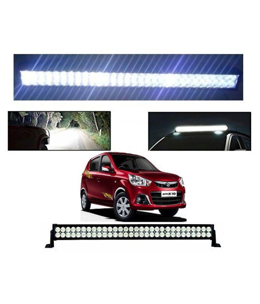 Neeb Traders Maruti Suzuki Alto K10 New Bar Light Fog Light 51Inch 120Watt