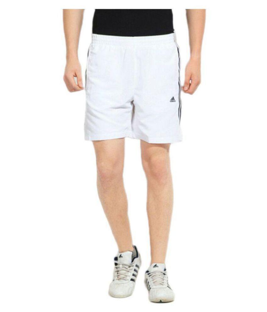 ADIDAS 2019 White Shorts