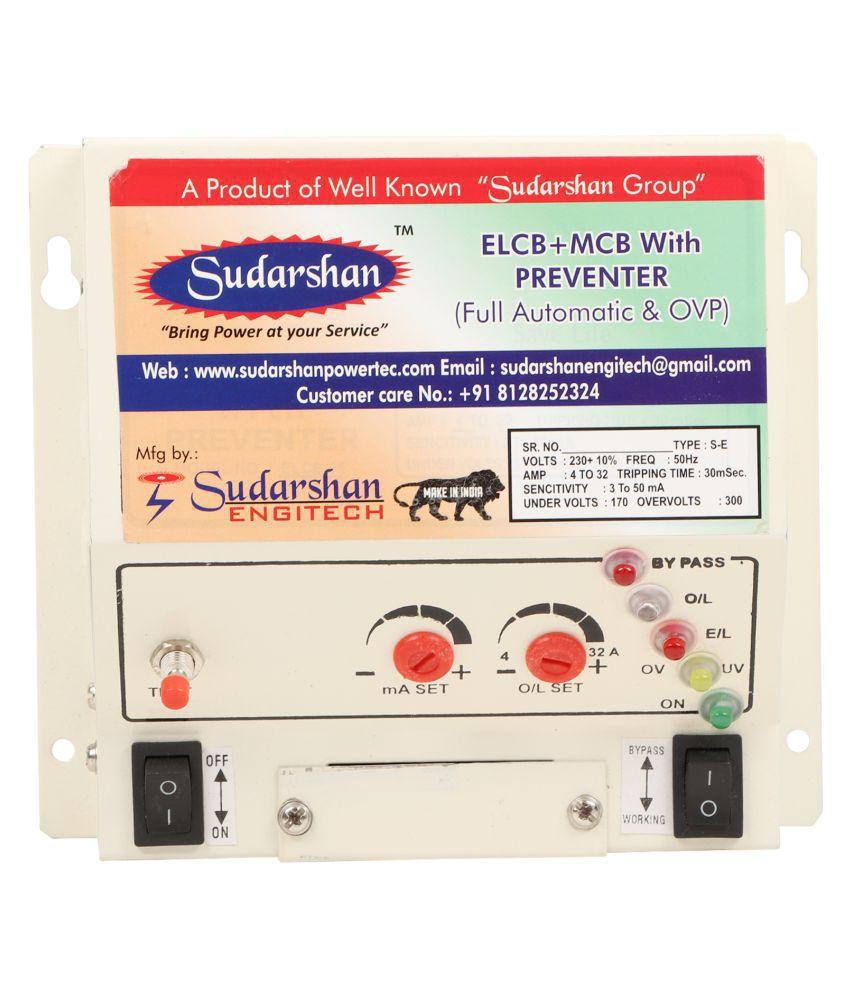 Sudarshan RCCB Two Pole 32 Amp