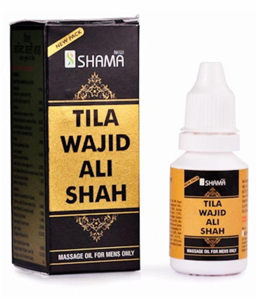 Ayurveda Cure New Shama Tilla Wajid Ali Shah Oil 15 ml Pack of 3