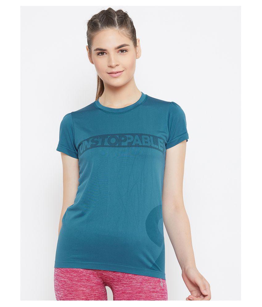 C9 Poly Cotton Blue T-Shirts