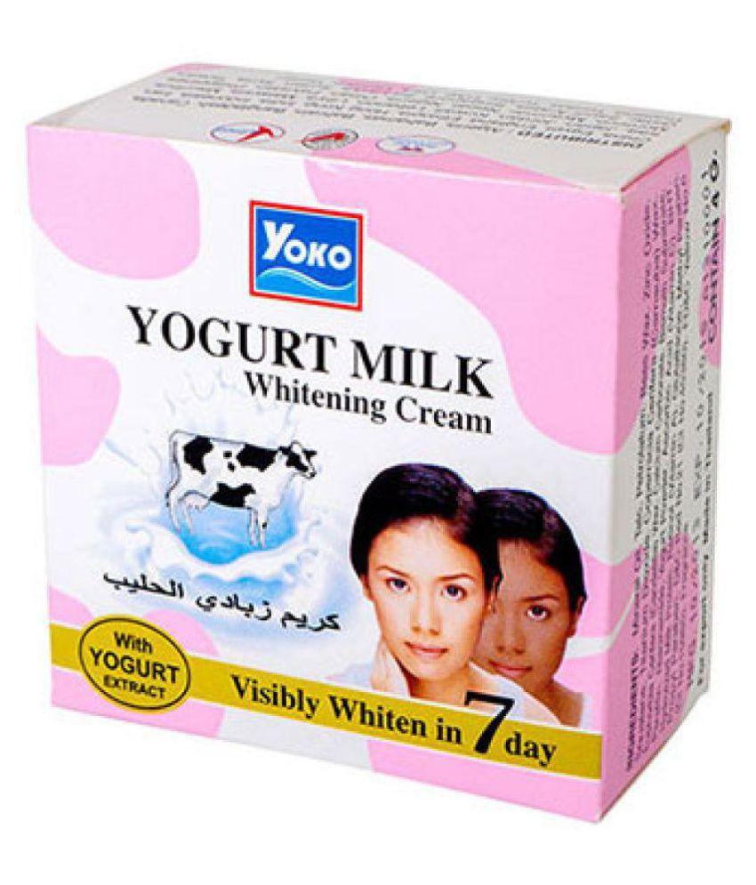 Beauty World Yoko Yogurt Milk Whitening Cream 4gm Day Cream 4 gm