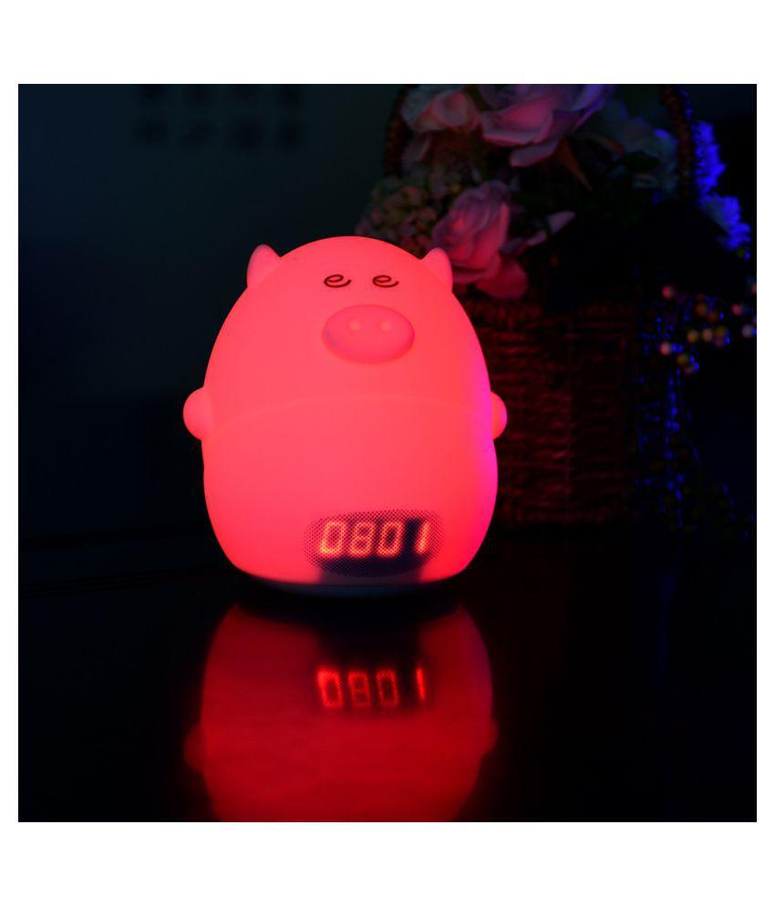 Lovely Cute Pig Usb Night Light Bedroom Decor Mini Led Alarm Clock Lamp Buy Lovely Cute Pig Usb Night Light Bedroom Decor Mini Led Alarm Clock Lamp At Best Price In India