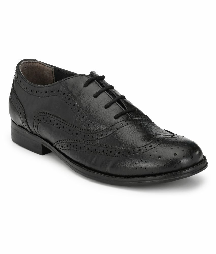 Zebba Black Casual Shoes