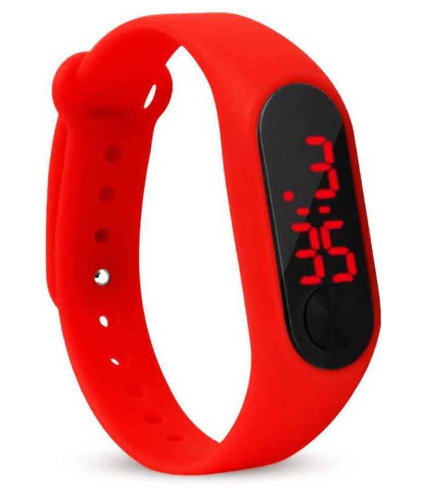 EXOMOON ENTERPRISE 223 Rubber Digital Men's Watch