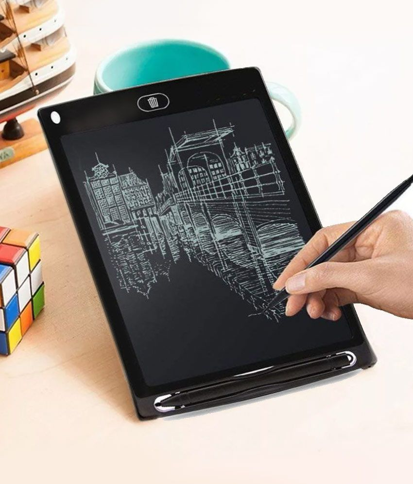 MagiDeal 5 Inch Smart Digital LCD Writing Paperless Drawing Tablet For Kids
