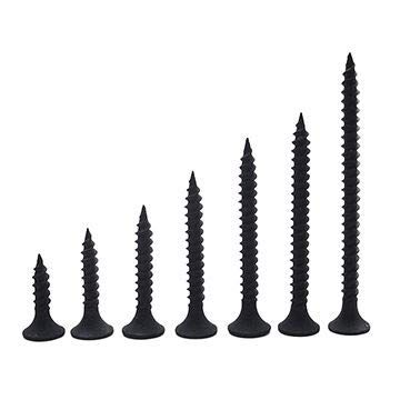 Spider Dry Wall Screws (Self Tapping) with Black Finish size 4.2 x 25mm(DWS4225)Pack of 1000 Pcs.