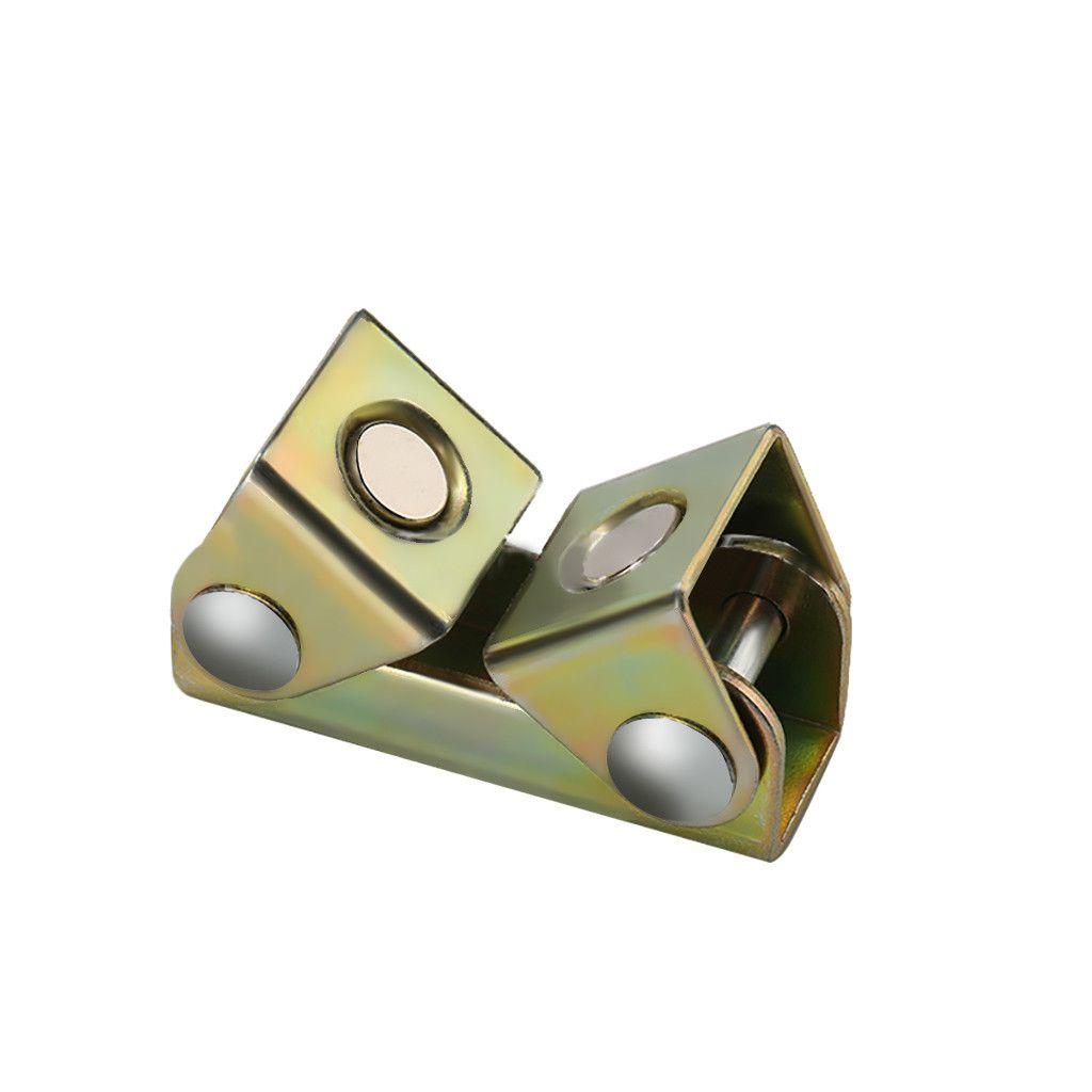 V Type Magnetic Welding Clamps Holder Suspender Fixture Adjustable V Pads Strong