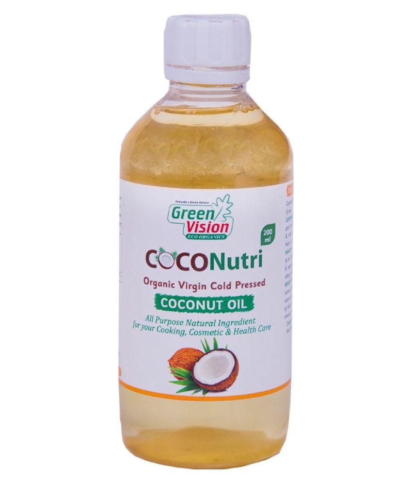 Greenvision Eco Organics Coconutri Organic Coconut Oil 200 mL