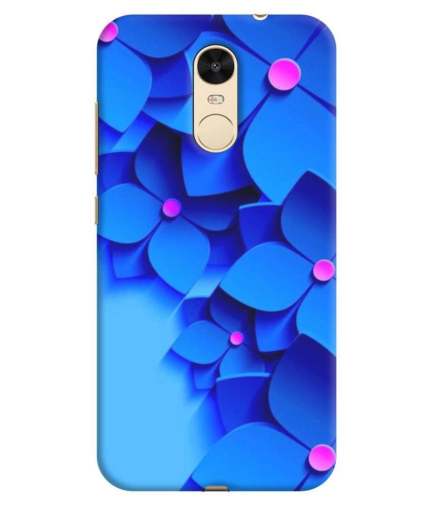 Xiaomi Redmi Note 4 Printed Cover By NICPIC 3D Printed