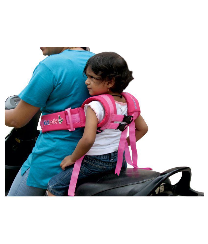 Kidsafe Black Polystyrene Kids Safety belt (2 wheeler/Car) ( pcs )