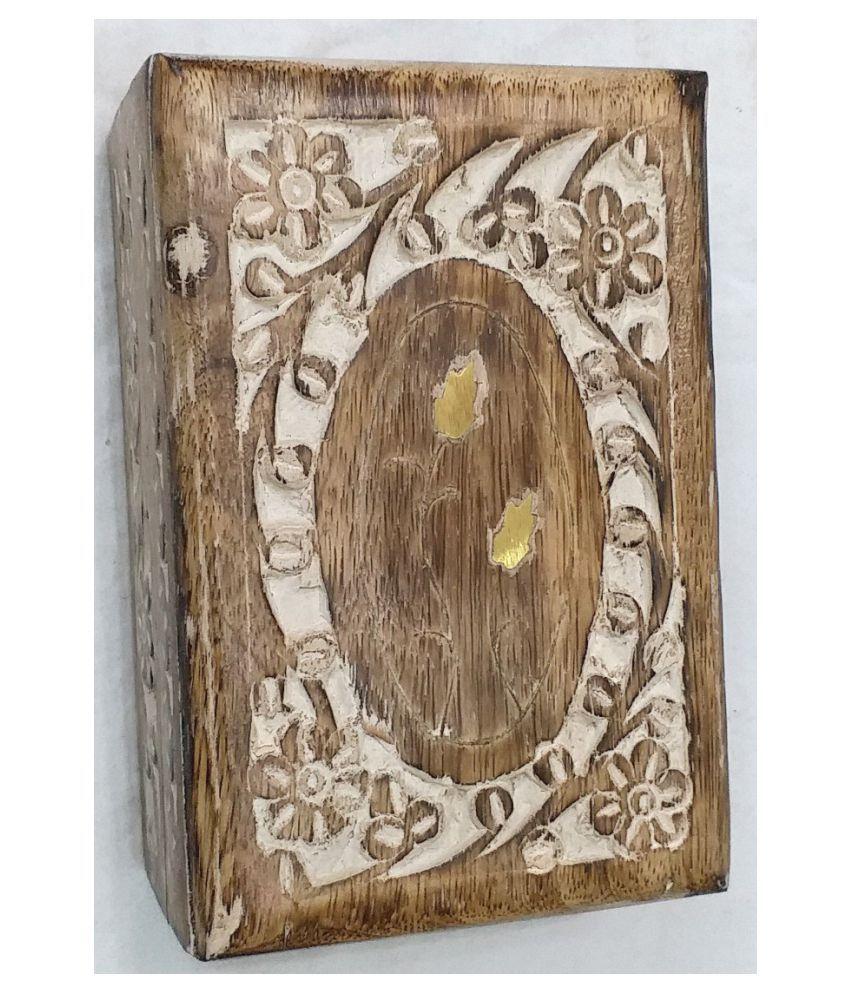 Viransh Handcrafted Multipurpose Wooden Jewellery Box B103