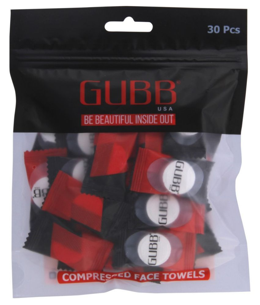 Gubb FACE TISSUE COIN TISSUE FACIAL WIPES Wet Wipes ( 30 Pcs )