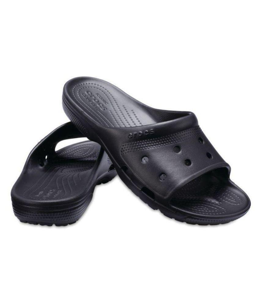 Crocs Black Slide Flip flop