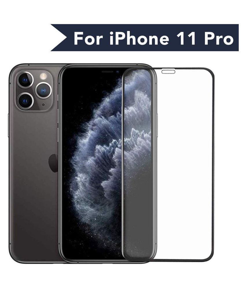 Apple iPhone 11 Pro Tempered Glass Screen Guard By lenmax  Advance Screen Protector Technology