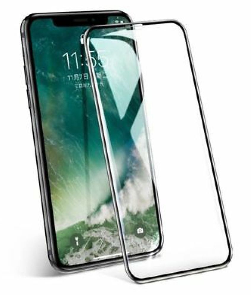 Apple iPhone 11 Tempered Glass Screen Guard By lenmax  Advance Screen Protector Technology