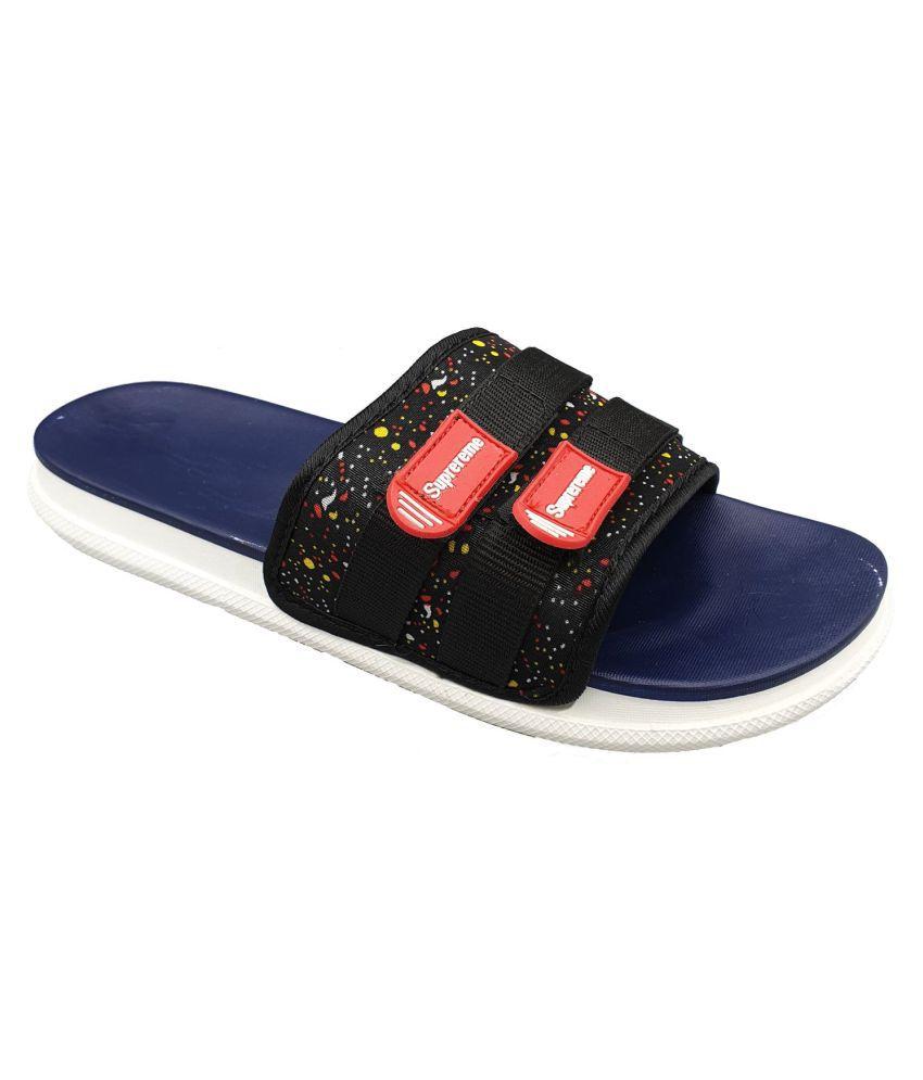 Pampy Angel Blue Slide Flip flop